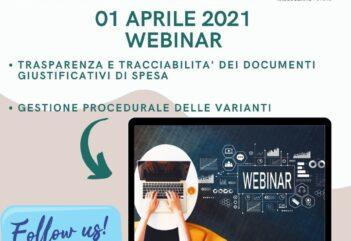 WEBINAR 01 APRILE 2021
